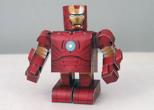 DIY: Iron Man Papercraft