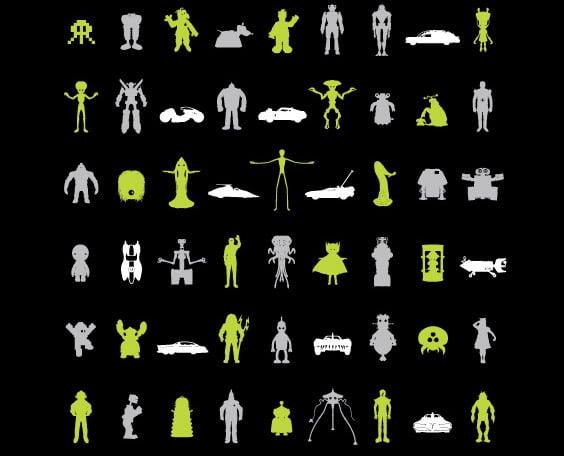 Science Fiction Screen Print