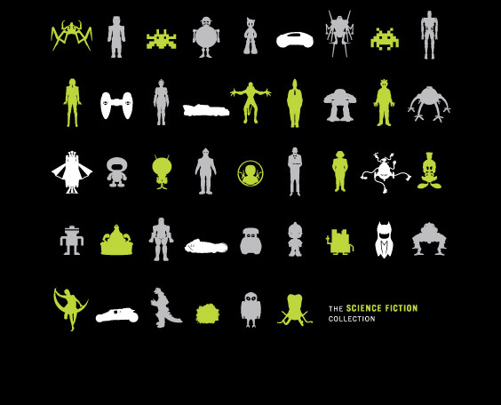 Science Fiction Screen Print