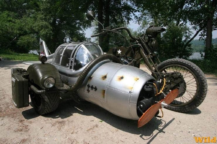 Fighter Sidecar Mashup