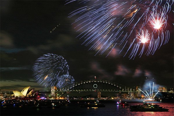 Photos: Welcoming 2010