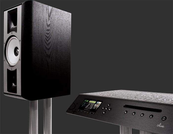 Olive+THIEL HD Music System