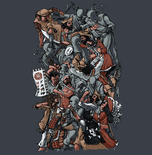 Epic Battle T-shirt