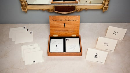 Forgetful Gentleman Stationery