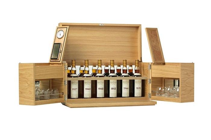 Macallan Linley Whisky Case