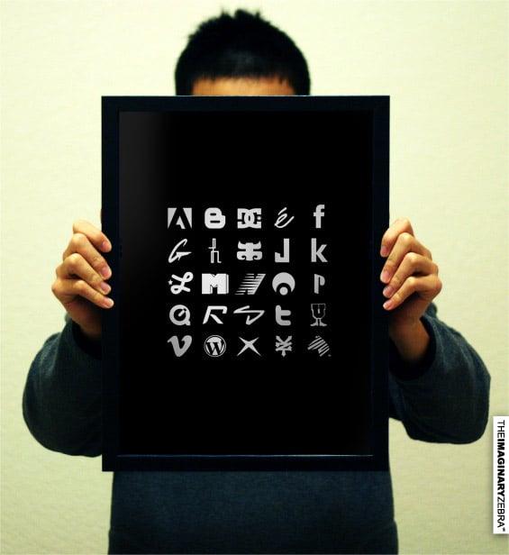 Poster: Brand Alphabet