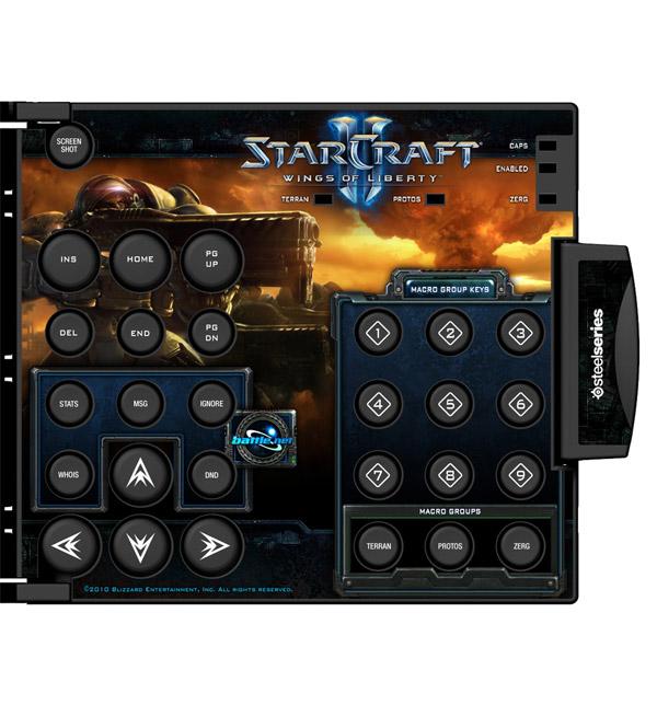 Starcraft II Zboard Keyset