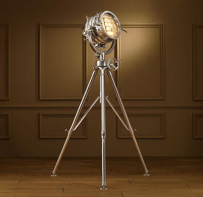 sealight floor lamp the awesomer. Black Bedroom Furniture Sets. Home Design Ideas