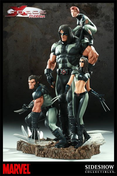 Diorama: X-Force
