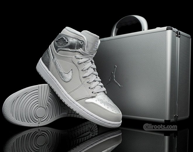 Air Jordan 1 Silver Package