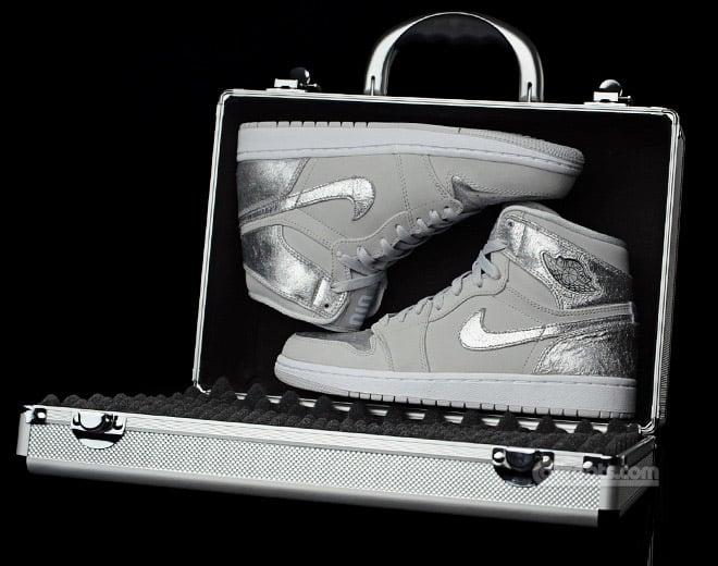 Air Jordan 1 Silver Package