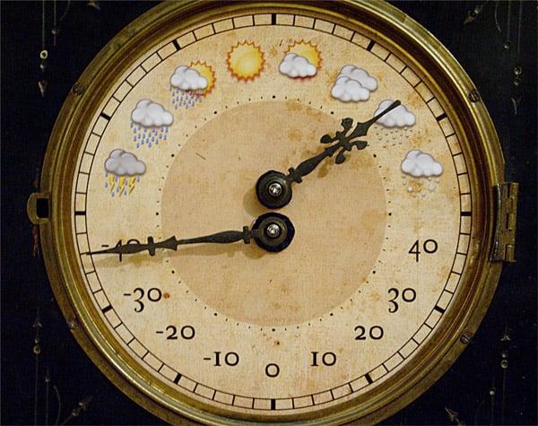DIY: Weather Clock