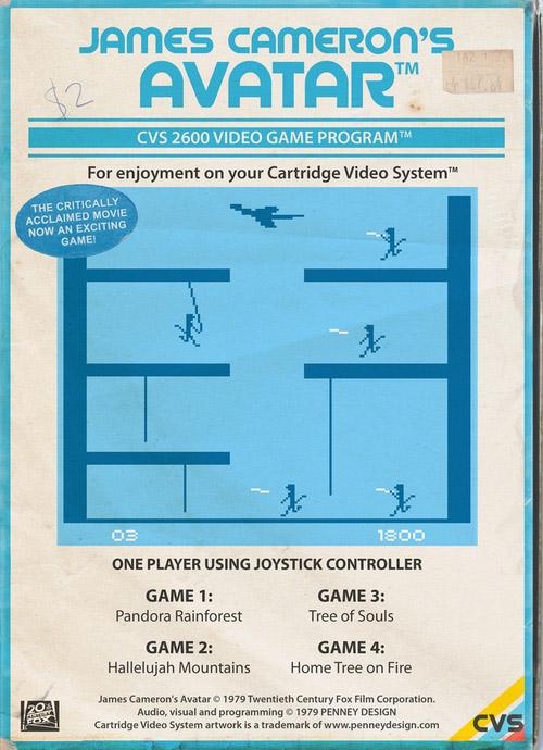 Movies As Cartridge Games