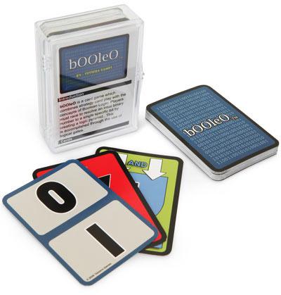 bOOleO Logic Card Game