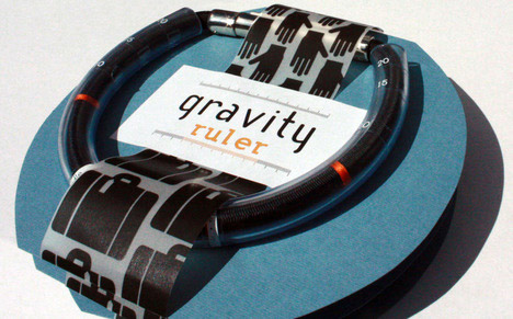 Gravity Ruler Luggage Scale