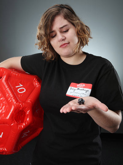 Inflatable d20