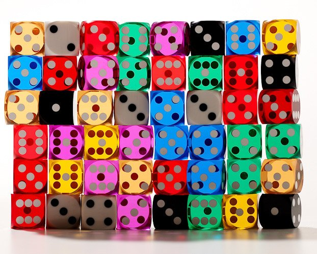 Backgammon Precision Dice