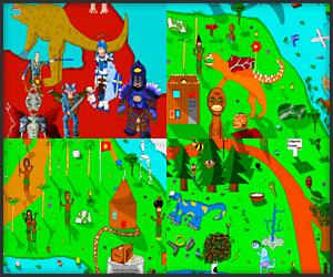 Art: My MS Paint World