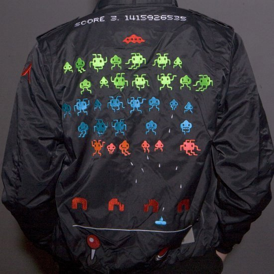 P.O. Space Invaders Jacket