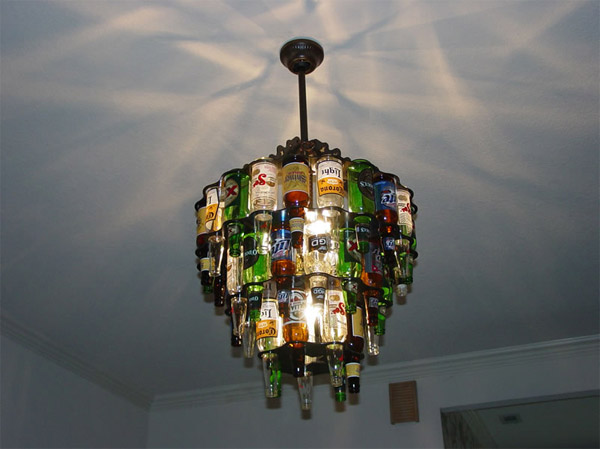 beer bottle lighting the awesomer