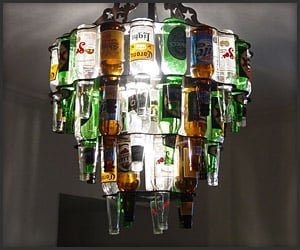 Beer Bottle Lighting
