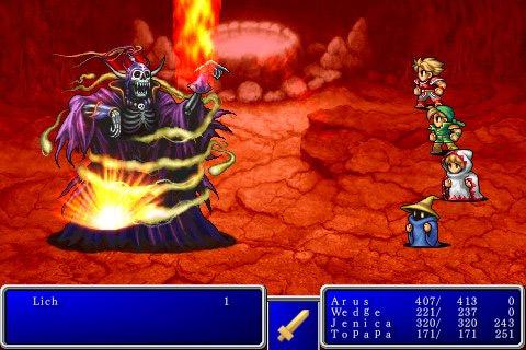 iPhone: Final Fantasy I/II