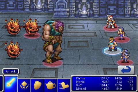 iPhone: Final Fantasy I/II