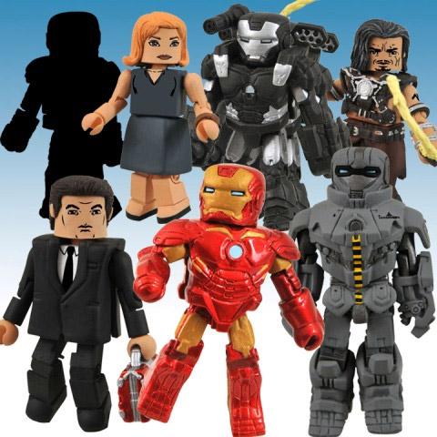 Iron Man 2 Minimates