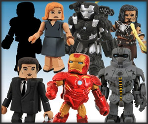 Iron Man 2 Minimates