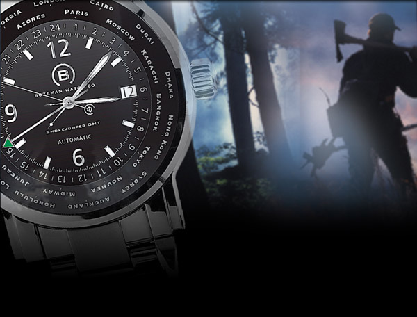 SmokeJumper GMT Watch