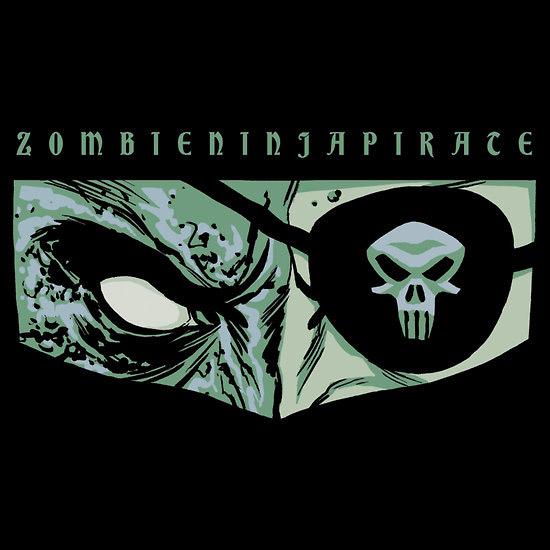 ZombieNinjaPirate T-shirt