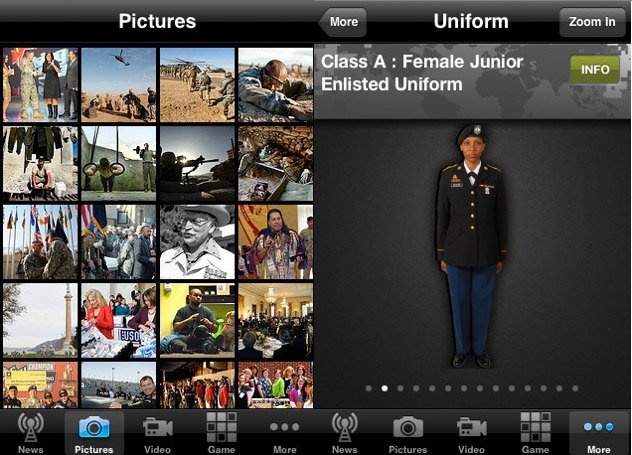 U.S. Army iPhone App