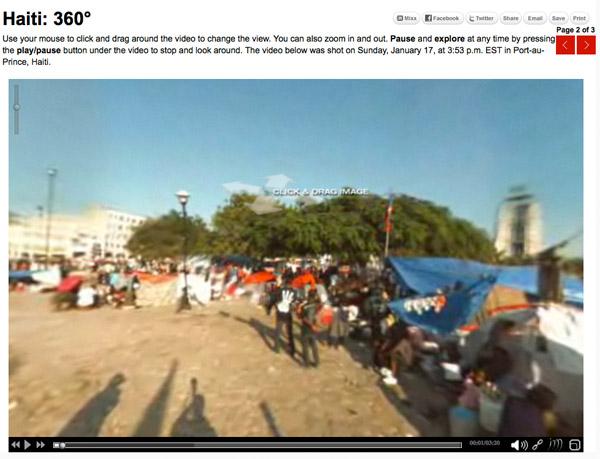CNN: Haiti 360