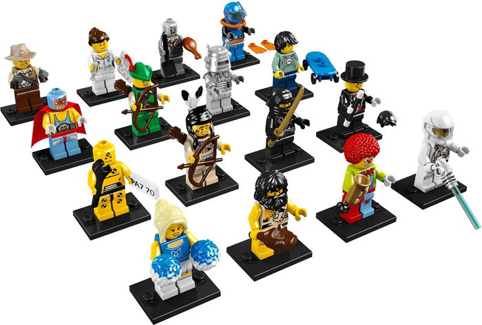Collectible LEGO Minifigs
