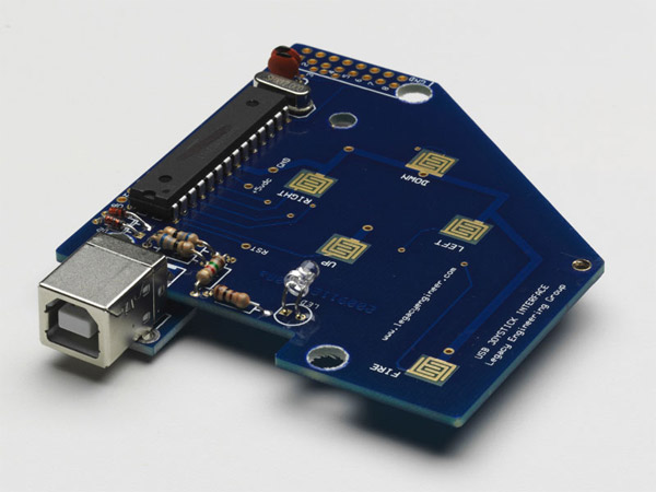 Clear Classic USB Joystick