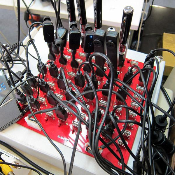 80-Port USB Charging Board