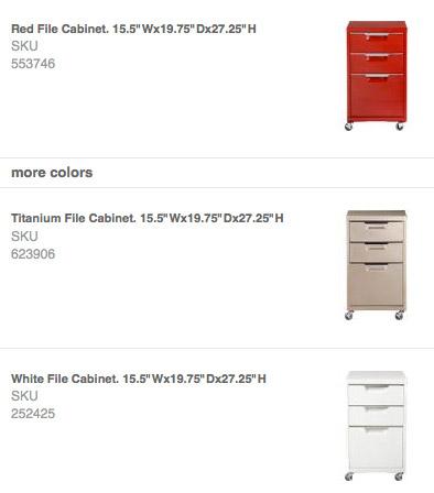Trig File Cabinet