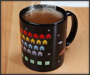 Heat Changing Arcade Mugs