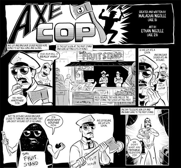Comic: Axe Cop