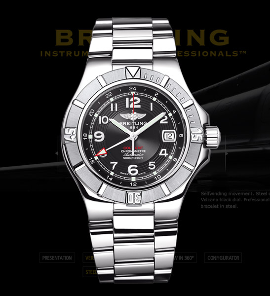 Breitling Colt GMT+ Watch
