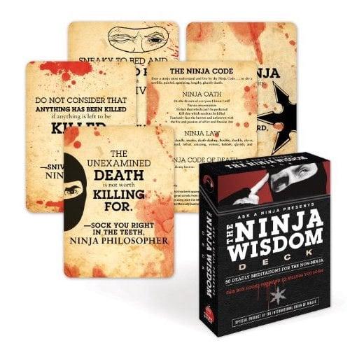 The Ninja Wisdom Deck