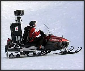Video: Google Snowmobile