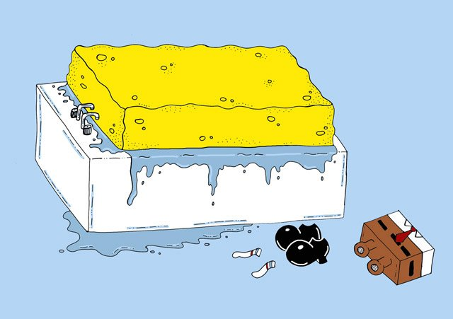 Spongebath T-shirt