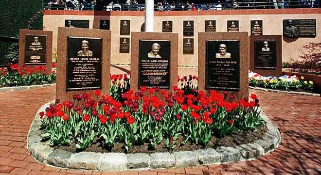 Yankees Monument Park Brick