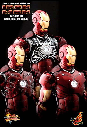 1:6 Iron Man Mark III