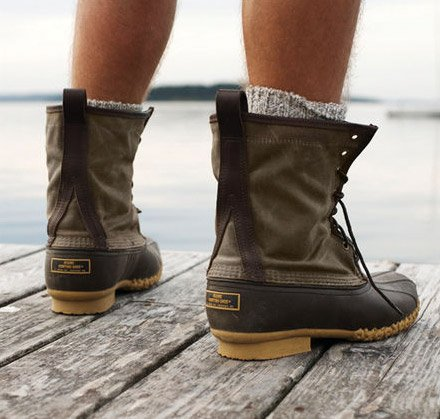 LL Bean Maine Hunting Shoes