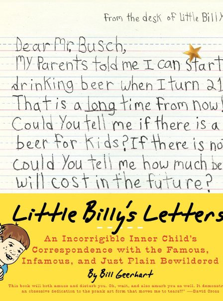 Little Billy's Letters (Book)