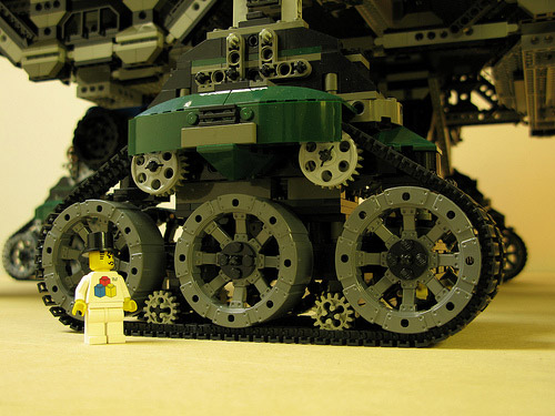 Lego Crawler Town The Awesomer