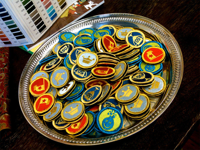 Nerd Merit Badges: Foursquare
