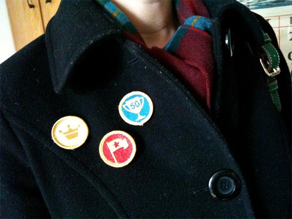 Nerd Merit Badges: Foursquare